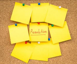 La seule résolution qui compte